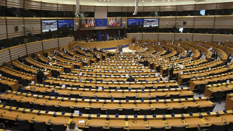 Plenaria a Bruxelles del Parlamento europeo