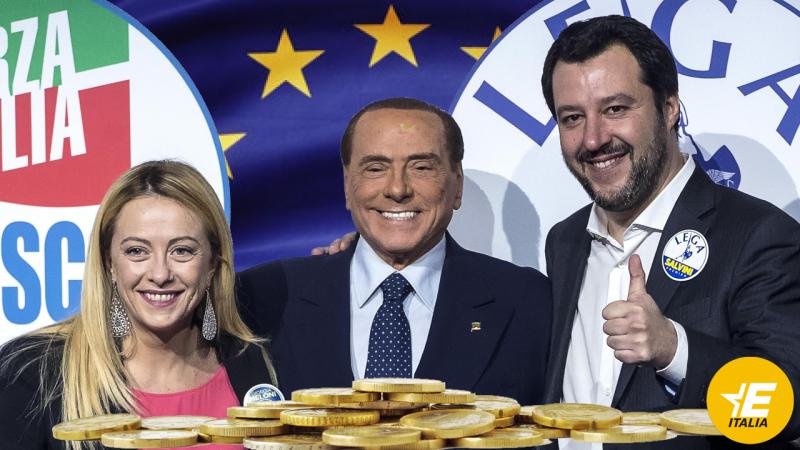 Meloni-Berlusconi-Salvini
